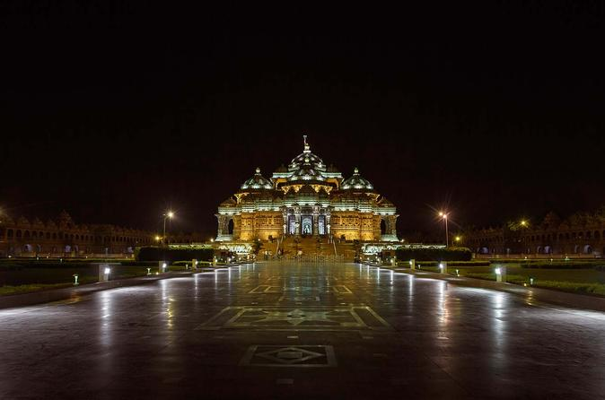 Akshardham Visit with Exhibition including Lunch or Dinner