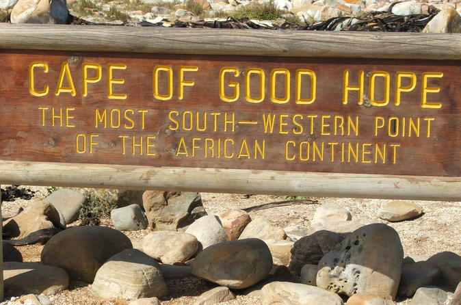 Cape of Good Hope Guided Day Tour from Cape Town