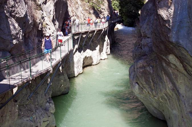 Private tour to Saklikent Gorge and ancient city Tlos