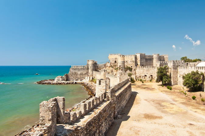Private trip to banana country with Anamurium ancient city and Mamure fortress from Alanya