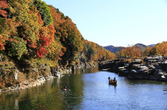 Autumn Leaves: Private River Boating and Bike Tour of Nagatoro from Tokyo