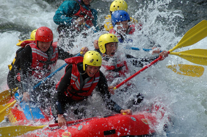 Small-Group White Water Rafting Adventure in Dagali