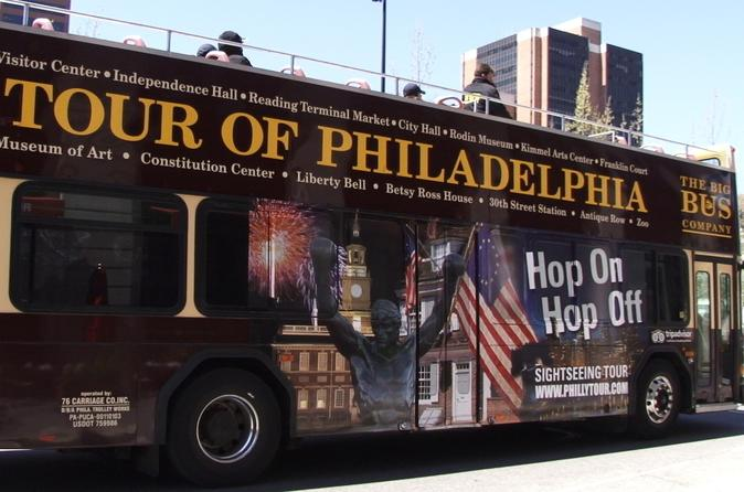 Philadelphia 27-Stop Double Decker Tour Pass