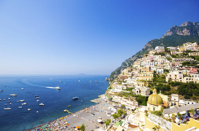Sorrento and Amalfi Coast Private Tour with a Japanese Speaking Guide from Naples