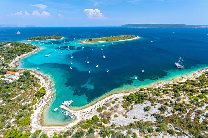 Two Islands Blue Lagoon Half Day Boat Tour from Split