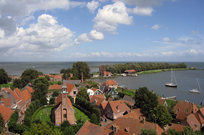 Zuiderzeemuseum Enkhuizen by Train combined with Canal Cruise in Amsterdam