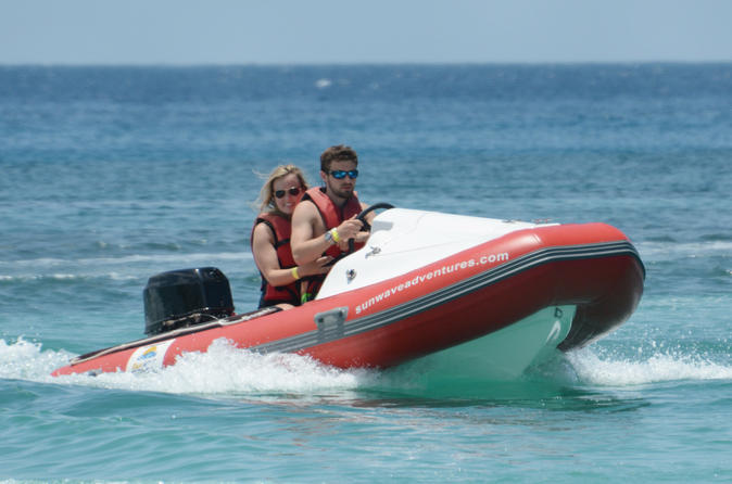FALMOUTH SURF N' TURF MINI-SPEED BOAT ADVENTURE