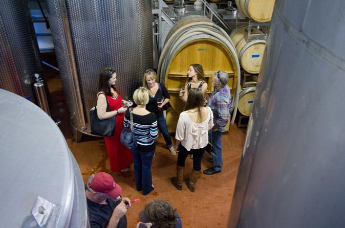Marble Falls 1.5-Hour Wine Production Tour with Tasting