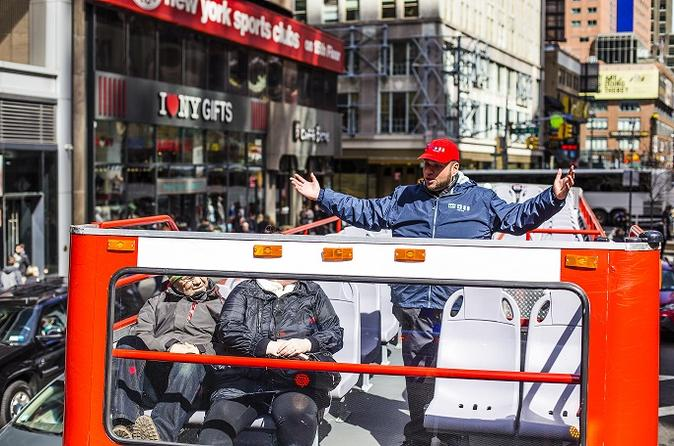 New York City Hop-On Hop-Off Sightseeing Bus Tour
