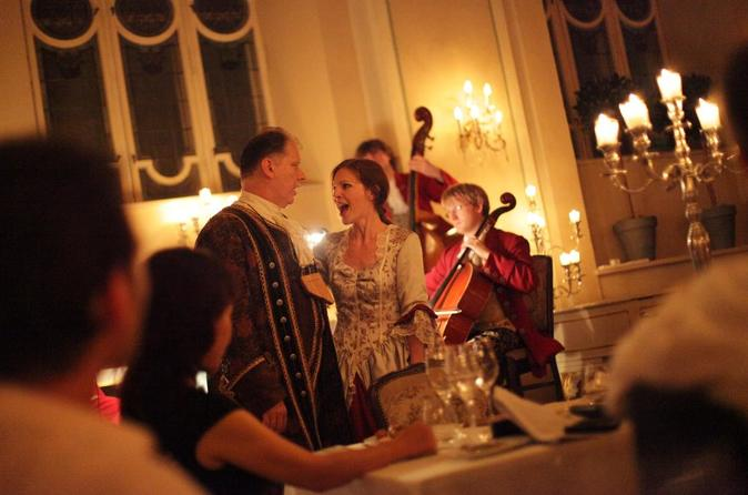 Mozart Dinner Concert at the Baroque Hall of St Peter