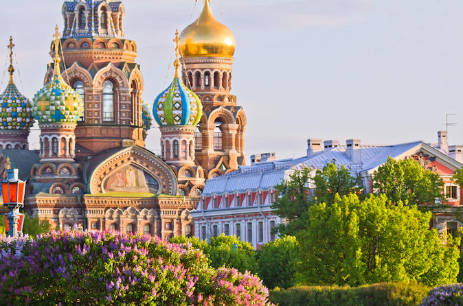 St Petersburg 3-Day Deluxe All-Inclusive Tour with Canal Boat Ride