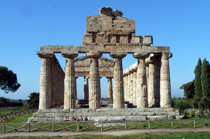 Salerno and Paestum Full-day Coach Tour from Sorrento