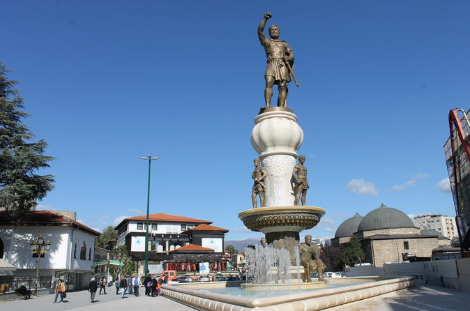 Private Full Day Tour Best of Skopje