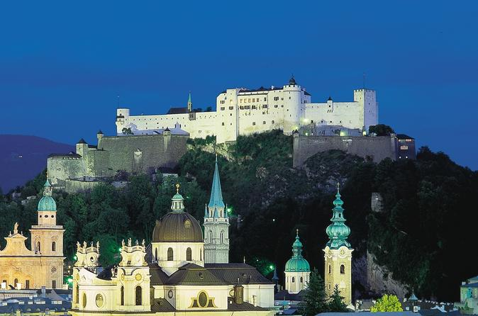 Dinner Experience at Salzburg Fortress and Mozart Concert in Salzburg
