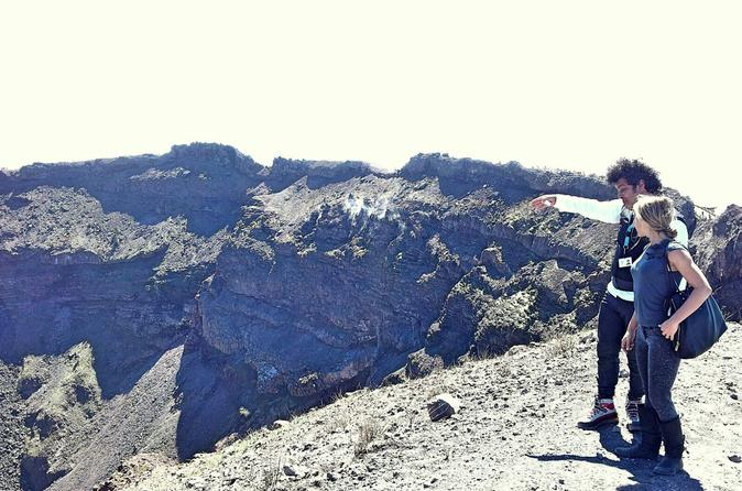 Vesuvius Tour With Optional Crater Adventure Hike