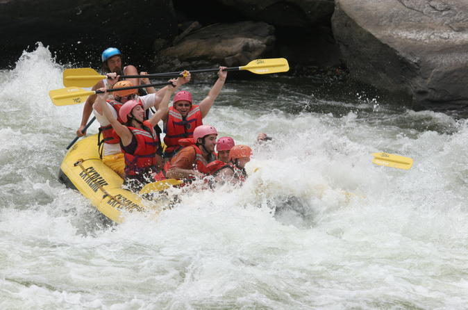 Private Day-Tour: Kithulgala White Water Rafting Adventure Tour from Colombo and Kandy