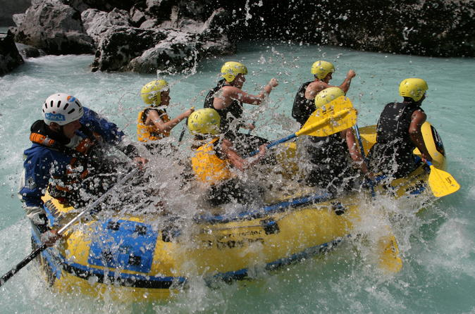 Soca River Active Package Rafting And Canyoning In Valley
