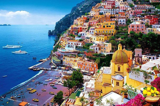 Full Day Private Tour Amalfi Coast and 3D Virtual Reality Tour of Pompeii