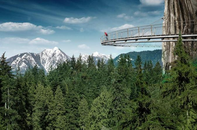 Vancouver Private Day Tour and Capilano Suspension Bridge