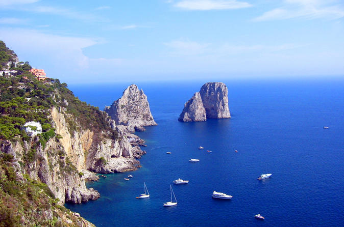 Capri and Anacapri Guided Tour from Amalfi Coast