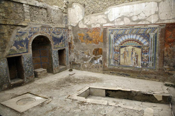 Full-Day Tour of Herculaneum and Sorrento from Amalfi Coast