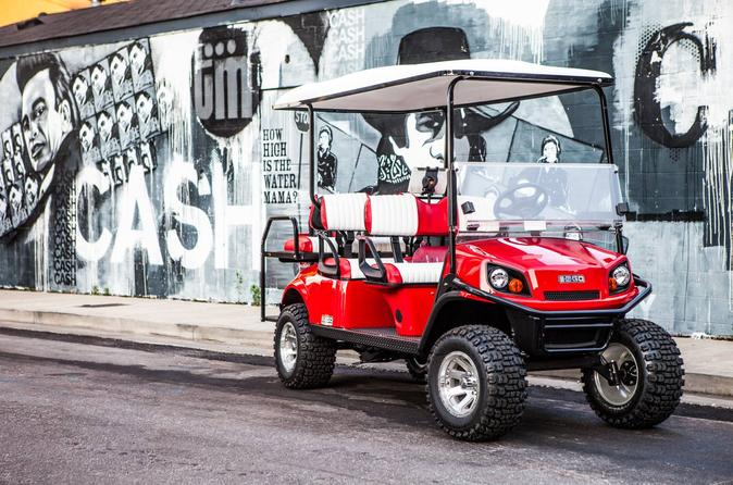 Mural Art Tour of Nashville by Golf Cart