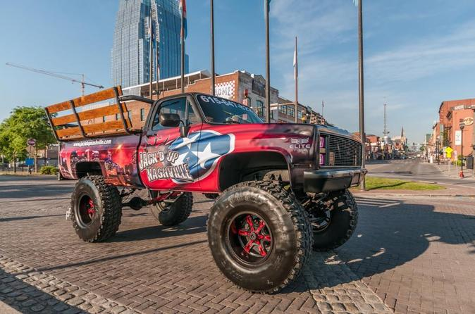 Small-Group Monster Truck Joyride in Nashville