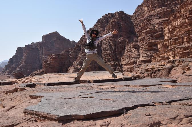 2-Day Petra, Wadi Rum, Red Sea and Dead Sea Tour from Amman
