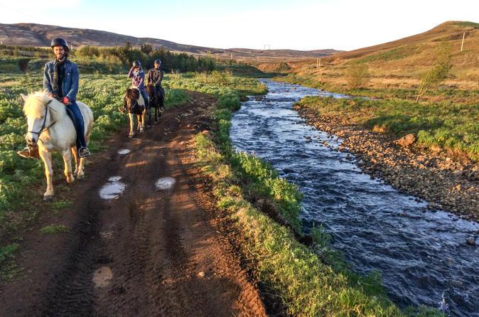Private Horse Riding Tour in Thoromodsdale from Reykjavik