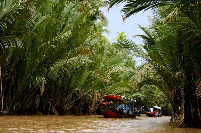 Full-Day Mekong Delta Boat Trip Small Group From HCM City
