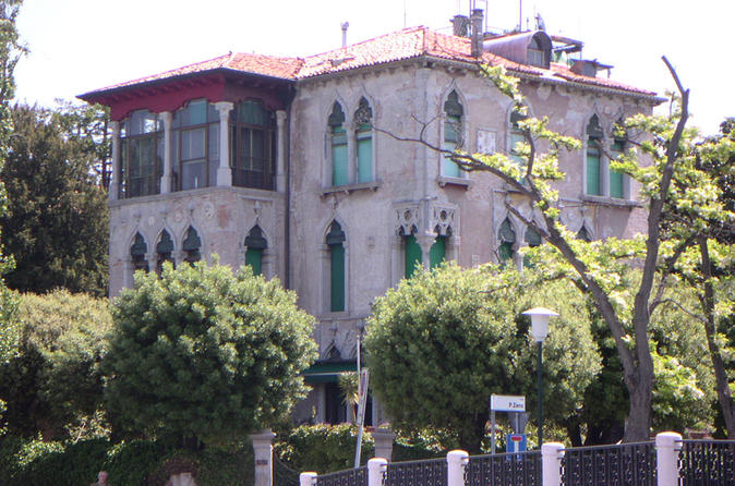 Art Nouveau villas in Venice Lido