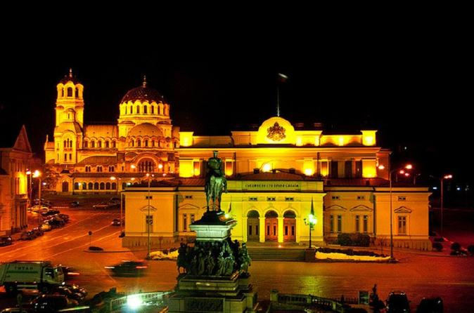 Sofia Evening Tour and Folklore Dinner