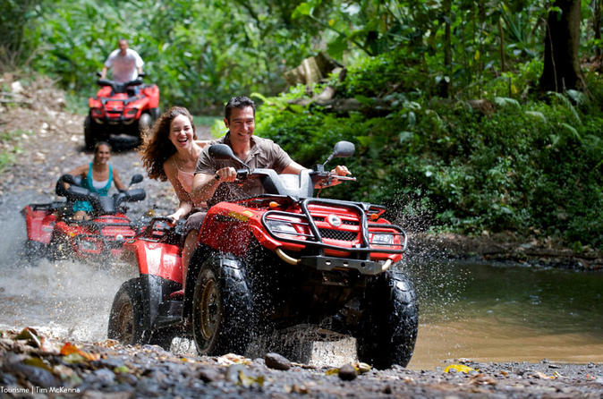 Off-road 4x4 Tour: Spring Water Cave: Farallon beach: Chocolate and coffe taste from Punta Cana