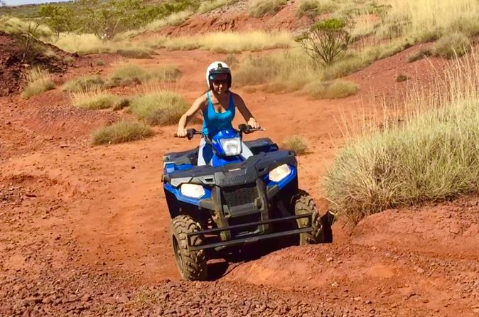 Aussie Outback Air and Land Tour Including Quad Bike Ride image