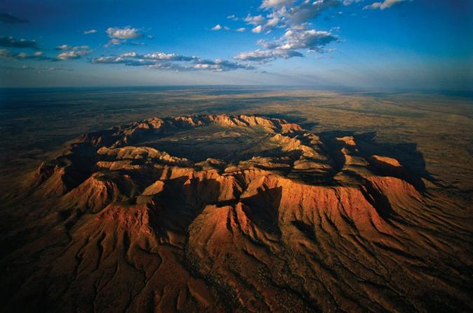 Fixed-Wing Scenic Flight from Ayers Rock Including Gosses Bluff, Kings Canyon, and Lake Amadeus