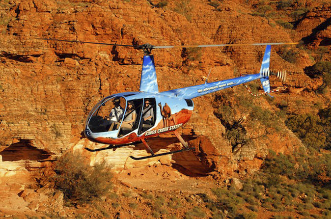 The Ultimate Combined Kings Canyon and Red Center Experience by Air