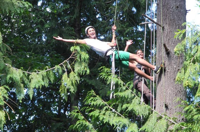 Canopy Tree Climbing at Deception Pass State Park