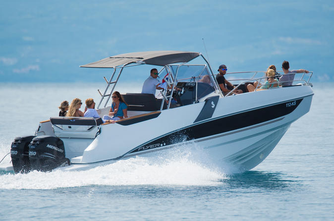 Private day tour to Hvar and Pakleni Islands by Speed boat