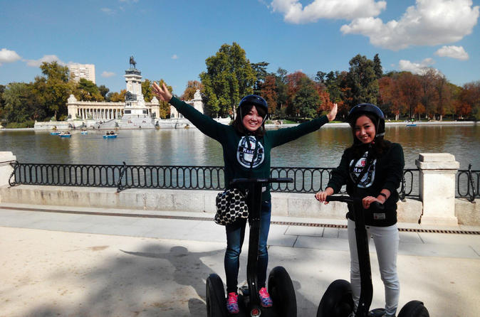Retiro Park Segway Tour 2h in Madrid