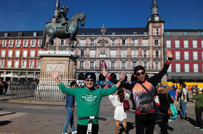 Sightseeing Segway Tour 1h30 in Madrid