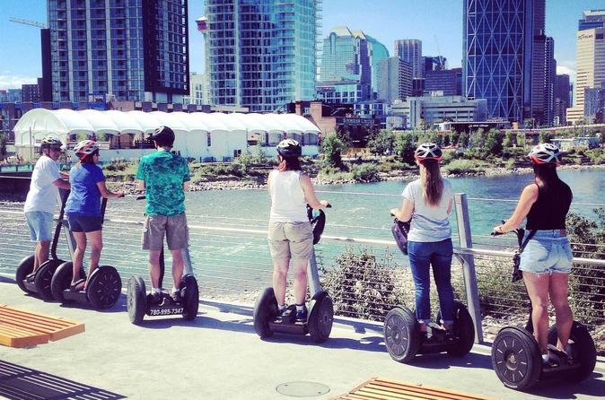 Calgary Bow River Valley 60-Minute Segway Adventure