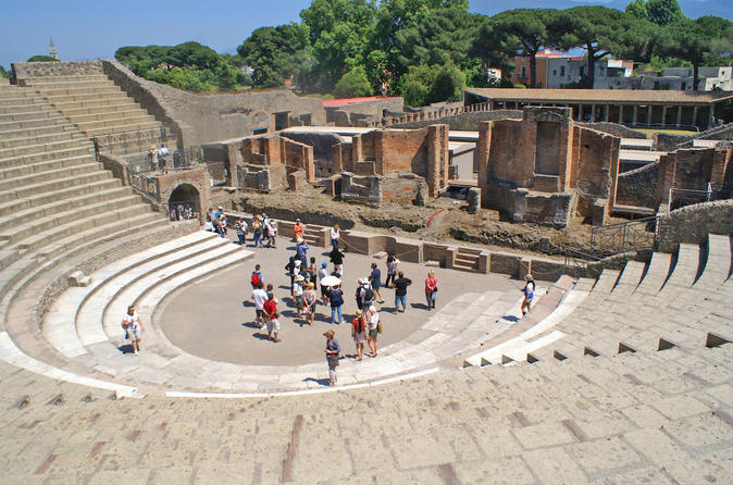 Ancient Pompeii Guided Small-Group Tour