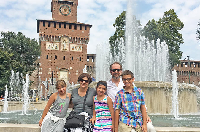 Milan Private Sightseeing Tour for Kids and Families with Local Guide