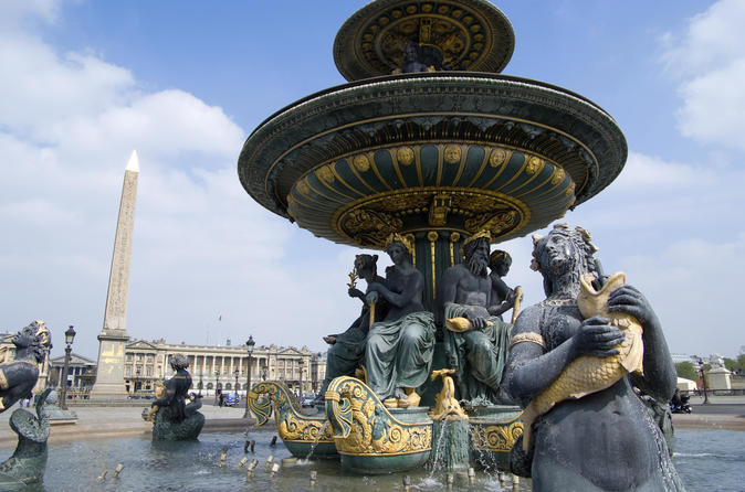 Sightseeing Tour of Paris including Musee de l'Orangerie Priority Access Ticket