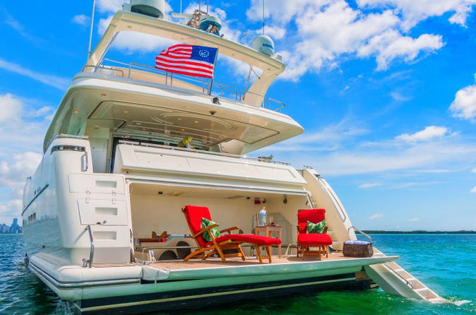 Luxury 100-foot Yacht Rental with Jetski