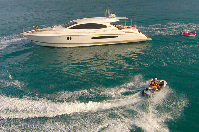 Luxury Full Day Yacht Charter including Jet-Ski