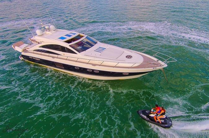 Luxury Half Day Yacht Charter including Jet-Ski