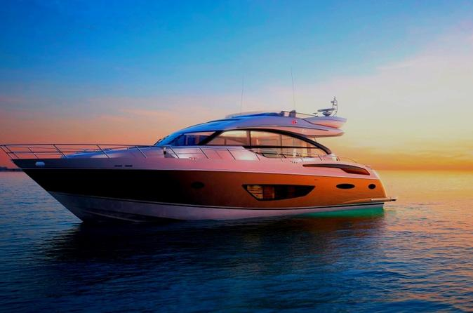 Luxury Sunset Yacht Charter with Champagne