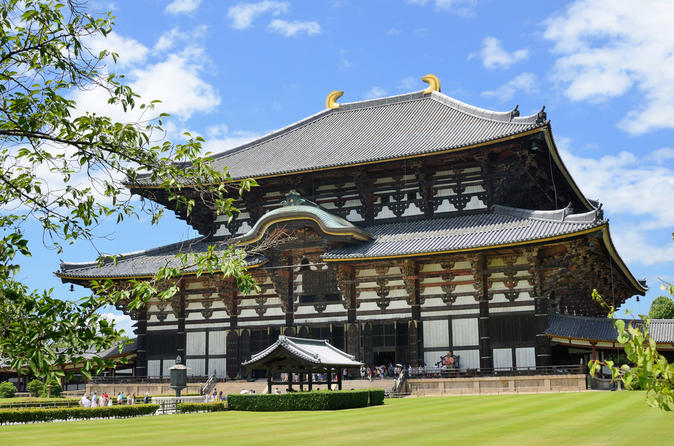 2-Day Kyoto and Nara Rail Tour by Bullet Train from Tokyo