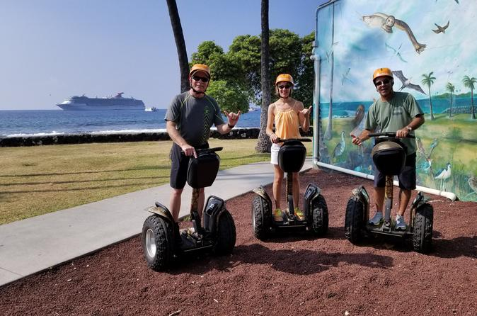 Kailua-Kona Segway Aloha Intro Tour - 30 Minutes - Rating: EASY